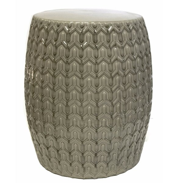 Jason Pristine Garden Stool by George Oliver