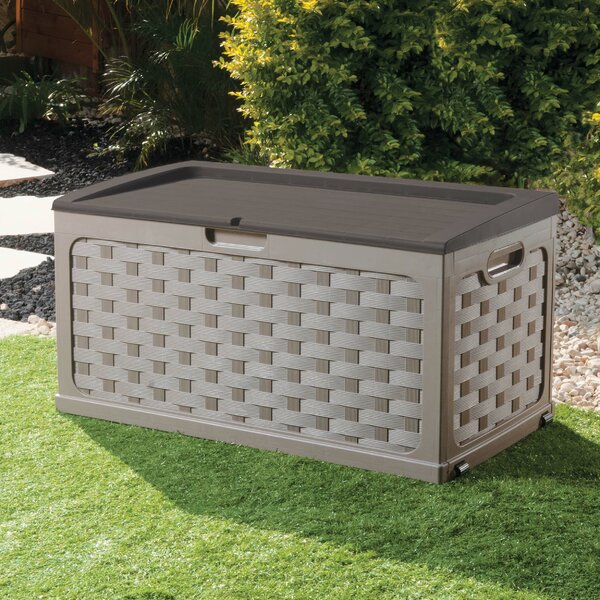 71 Gallon Plastic Deck Box by Starplast Starplast