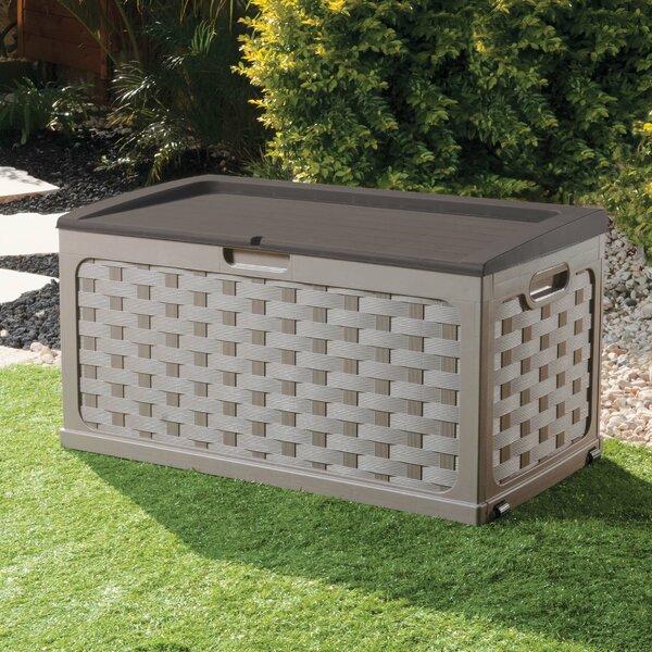 71 Gallon Plastic Deck Box by Starplast Starplast