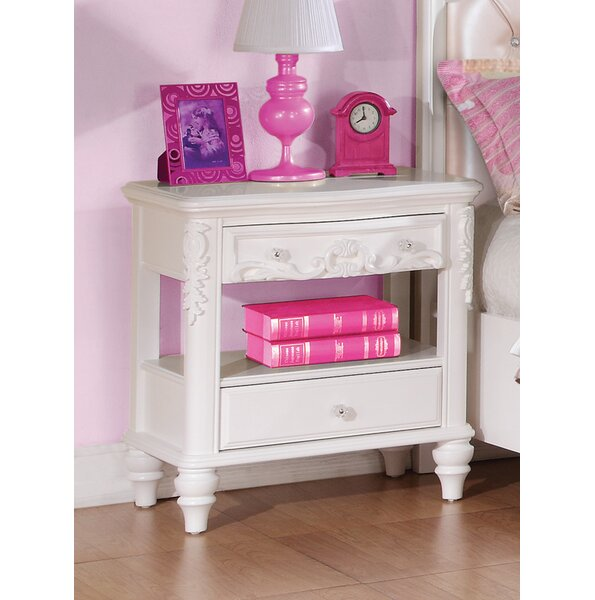 Whitney 2 Drawer Nightstand By Viv + Rae by Viv + Rae Great Reviews