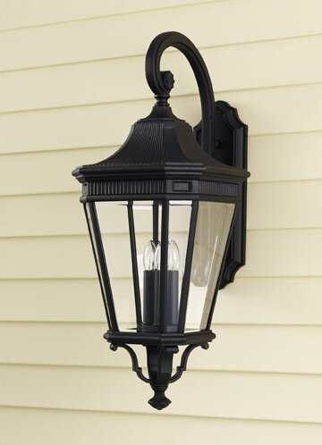 Chesterhill 1-Light Outdoor Wall Lantern by Darby Home Co