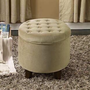Where buy  Wilfred Storage Ottoman By Three Posts