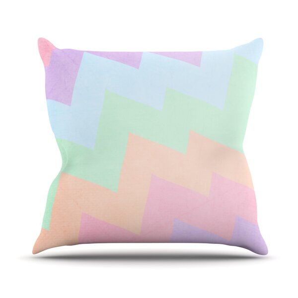 Blaze by Catherine McDonald Outdoor Throw Pillow by East Urban Home