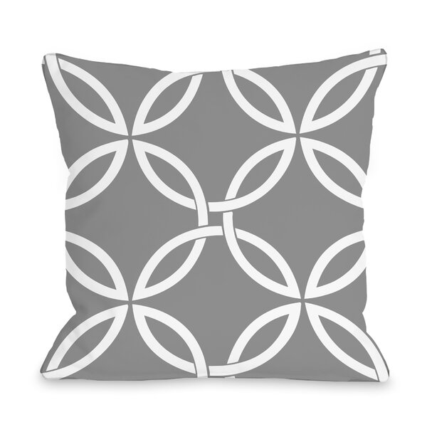 Melfa Interwoven Outdoor Throw Pillow by Wrought Studio
