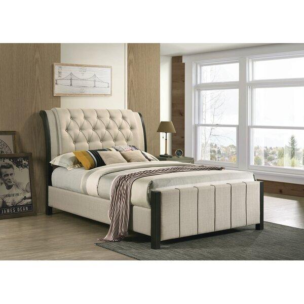 Madalene Tufted Upholstered Standard Bed by Red Barrel Studio