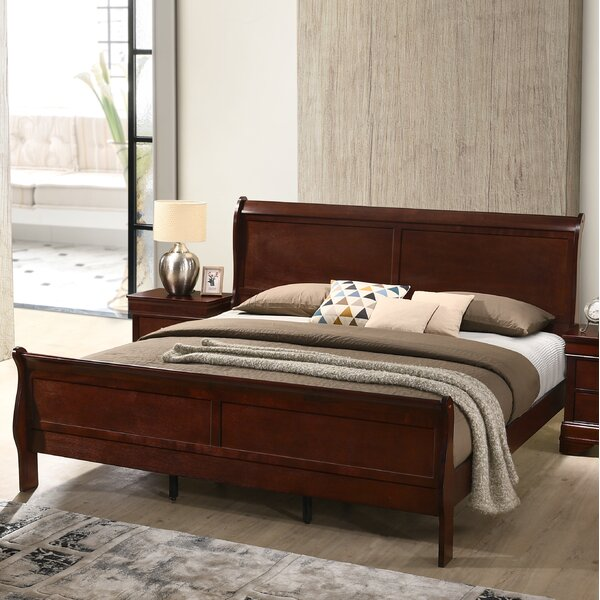 Braiden Sleigh 4 Piece Bedroom Set by Charlton Home