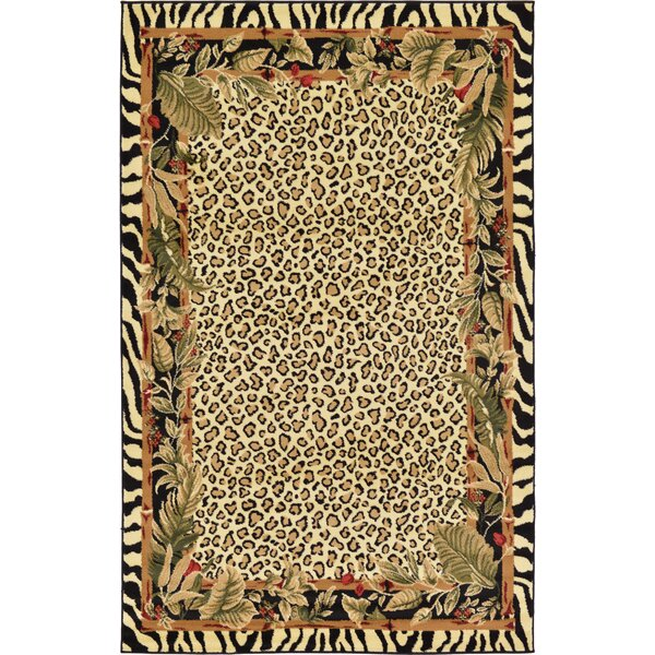 Leif Tan/Olive Area Rug by World Menagerie