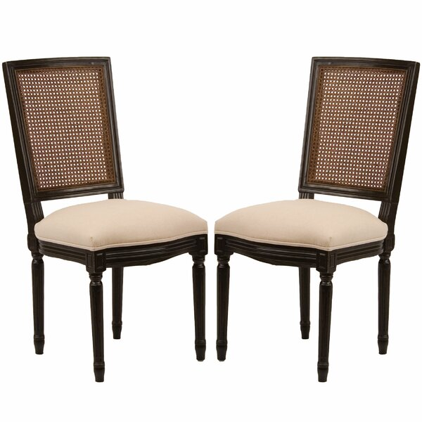 Orleans Side Chair in Creme (Set of 2) by Safavieh