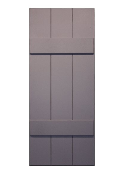 RockBridge Composite Board and Batten Shutter by Shutters By Design