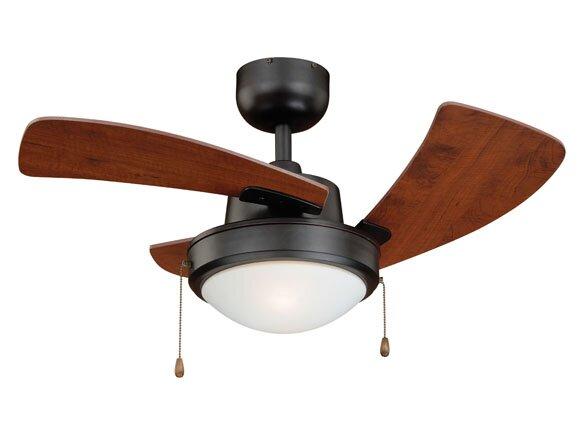 36 Wolcott 3-Blade Ceiling Fan by Vaxcel