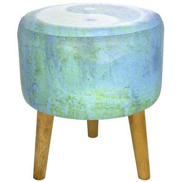 Yin Yang Stool by Oriental Furniture