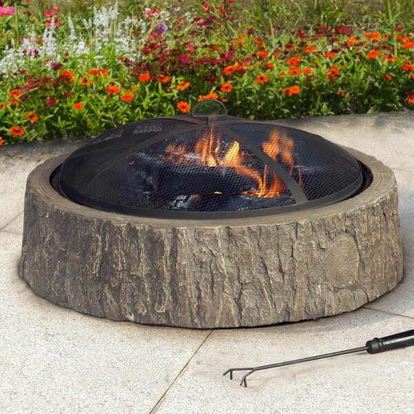 Steel Cheyenne Fire Pit by Sunjoy