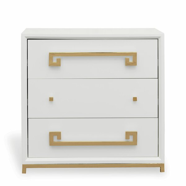 Hancock 3 Drawer Accent Chest by Port 68