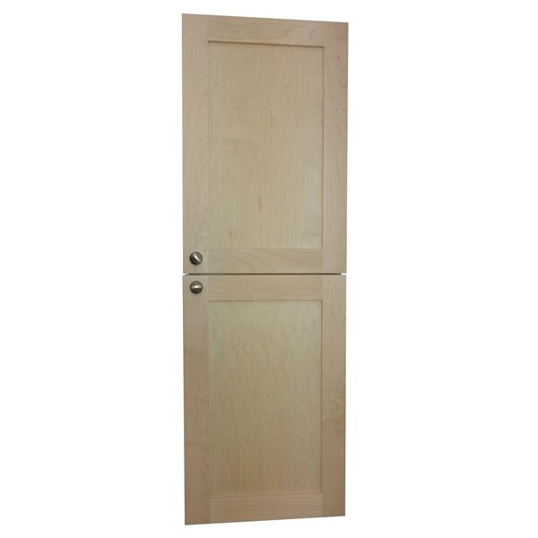 15.5 W x 59 H Recessed Cabinet by WG Wood Products