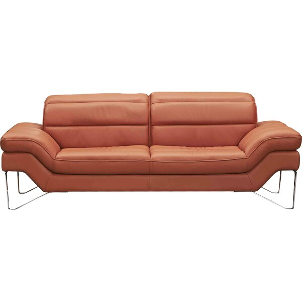 Braylen Leather Sofa by Brayden Studio Brayden Studio