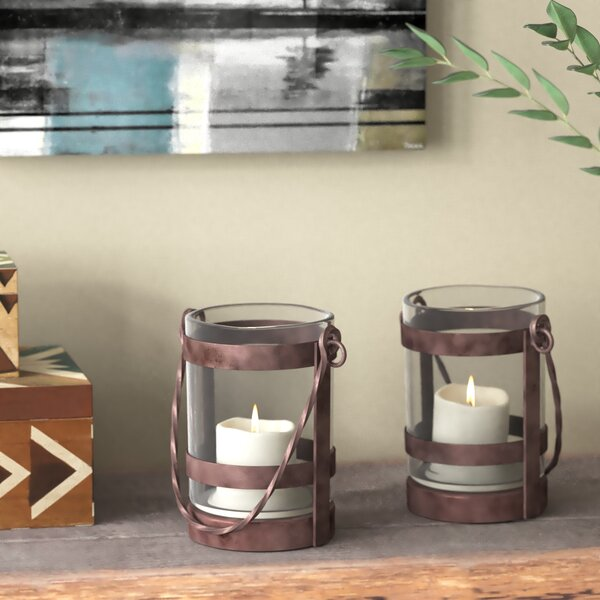 Modesto 2 Piece Candle Holder Set by Loon Peak