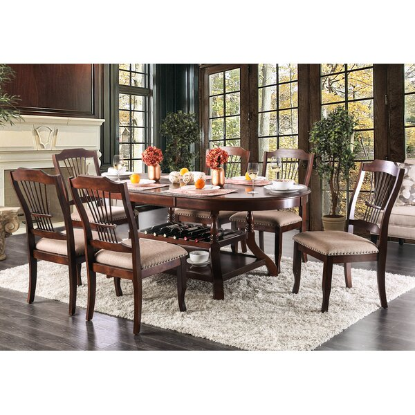 Ranstead 7 Piece Extendable Dining Set by Charlton Home