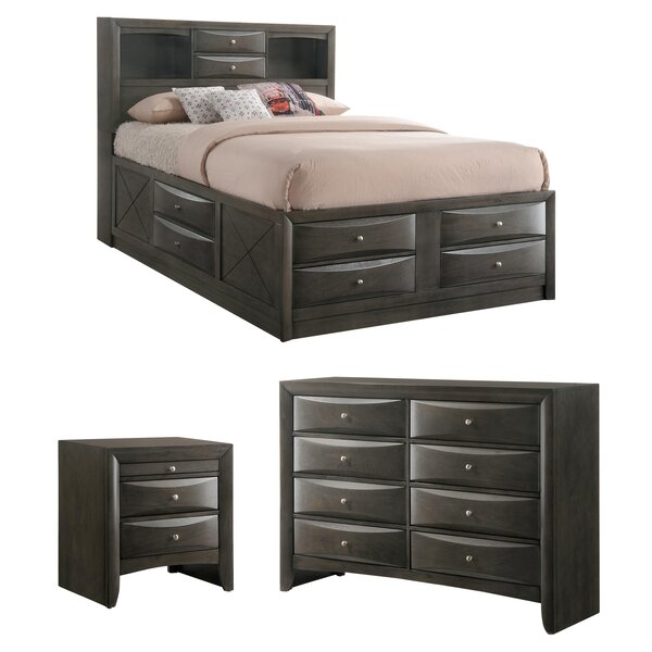 Weidman Storage Platform Configurable Bedroom Set by Latitude Run