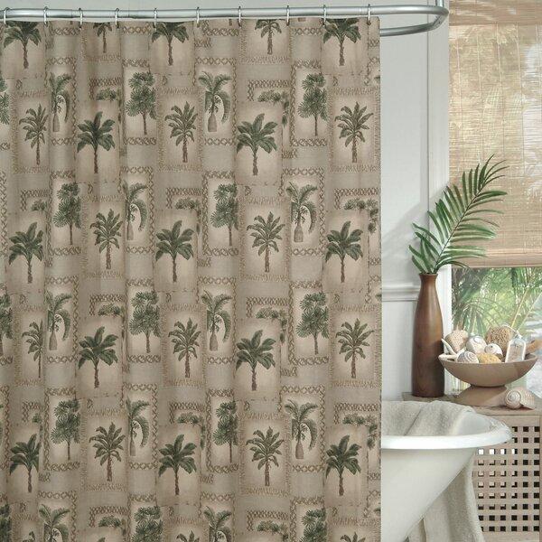 Palm Grove Shower Curtain by Karin Maki