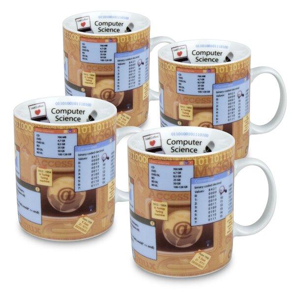 Computer Science Coffee Mug (Set of 4) by East Urban Home