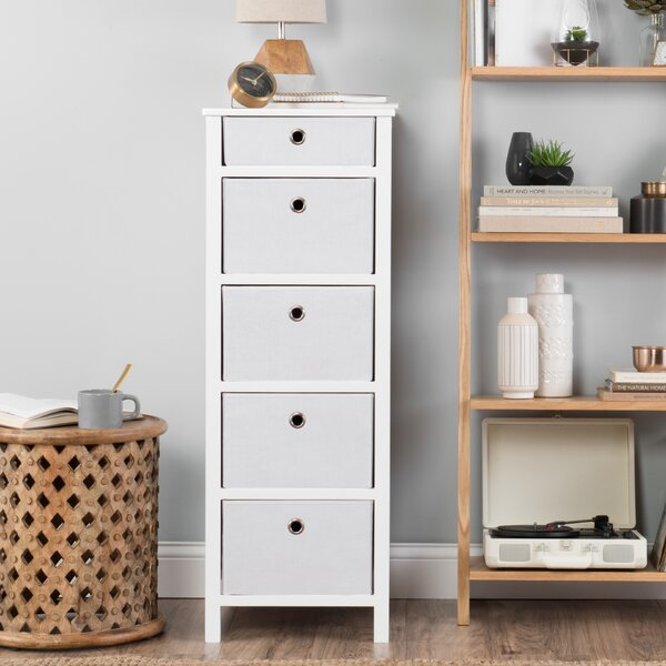 Briella 5 Drawers Lingerie Chest by Andover Mills