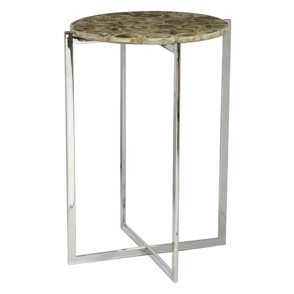 Racquel Accent Table by Orren Ellis