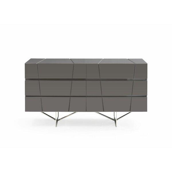 Marisol Modern 6 Double dresser by Orren Ellis
