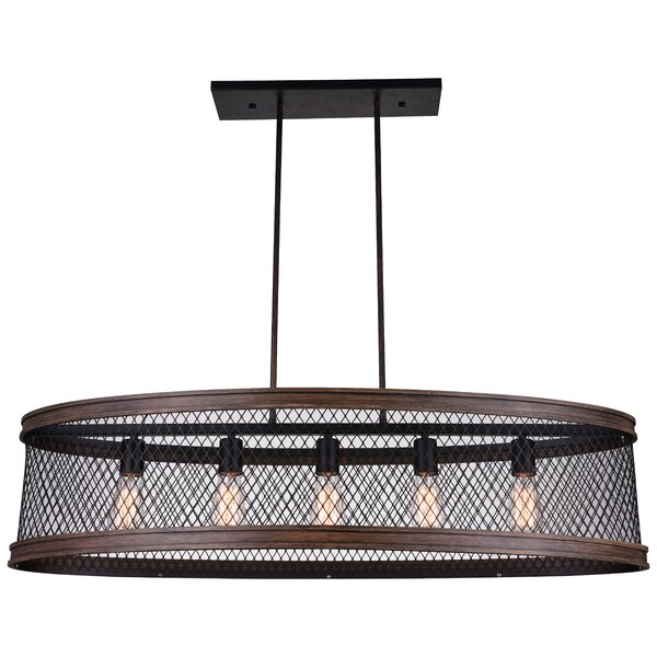Torres 5-Light Kitchen Island Pendant by CWI Lighting
