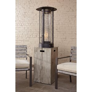 btu peachstone propane patio heater