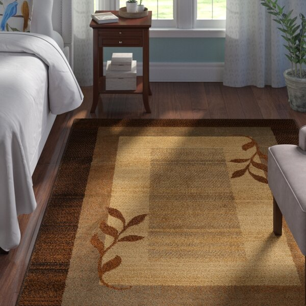 Eugenia Brown Area Rug by Andover Mills