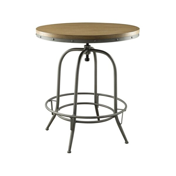 Looking for Little Italy Adjustable Pub Table By 17 Stories Top Reviews