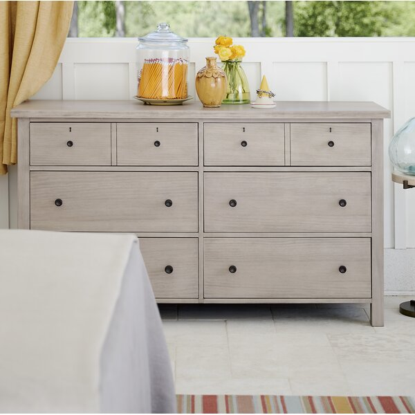 Reichel 6 Drawer Double Dresser by Gracie Oaks