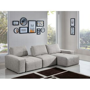 Jazz 3-Seater Reversible Chaise Sectional