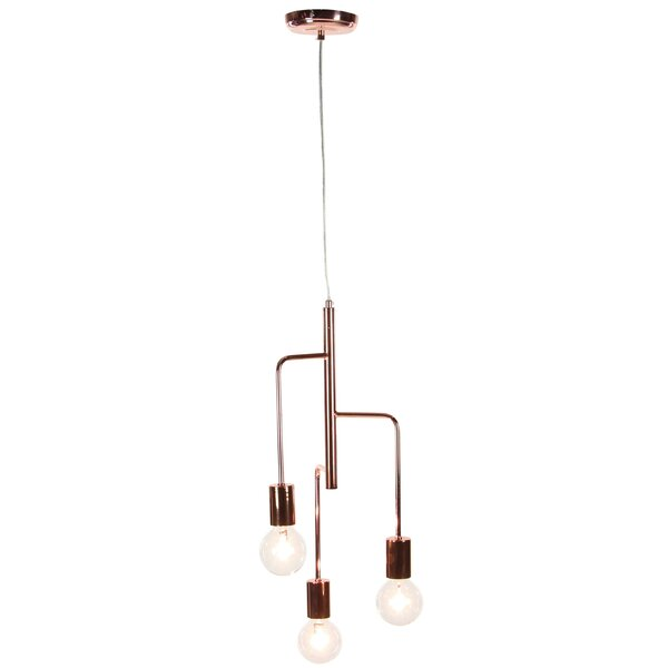 Ashley 23 3-Light Sputnik Chandelier by Wrought Studio