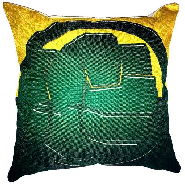 Hulk Throw Pillow by Lillowz