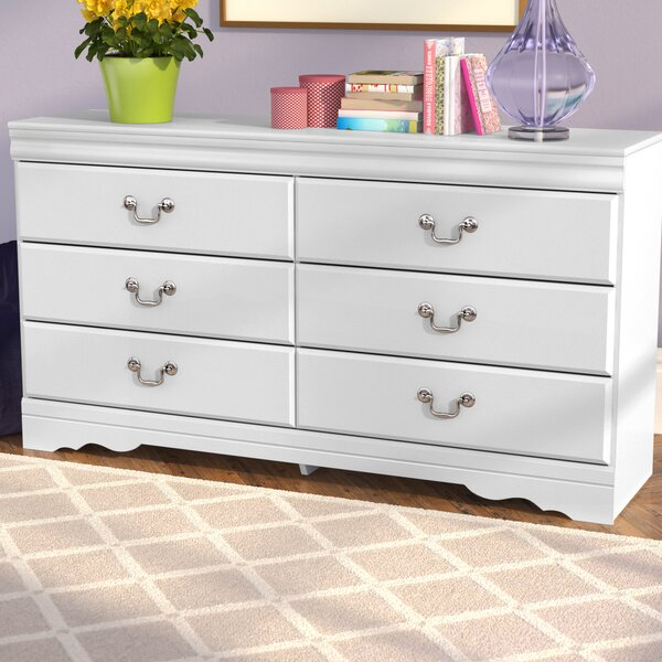 Aeroome 6 Drawer Double Dresser by Grovelane Teen