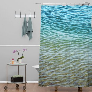 Savings Shannon Clark Ombre Sea Shower Curtain By Deny Designs