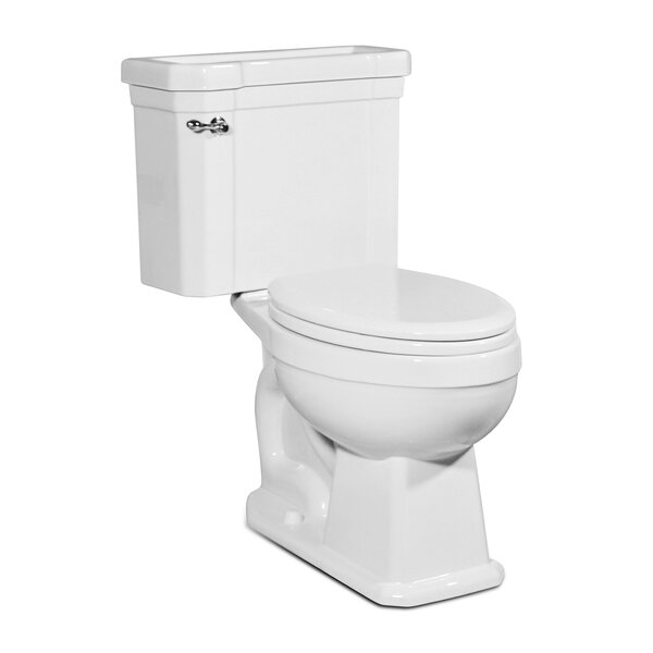 Richmond 1.28 GPF Elongated Two-Piece Toilet by St Thomas Creations by Icera