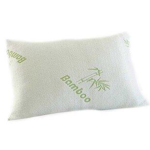 Zipper Memory Foam Pillow ByAlwyn Home