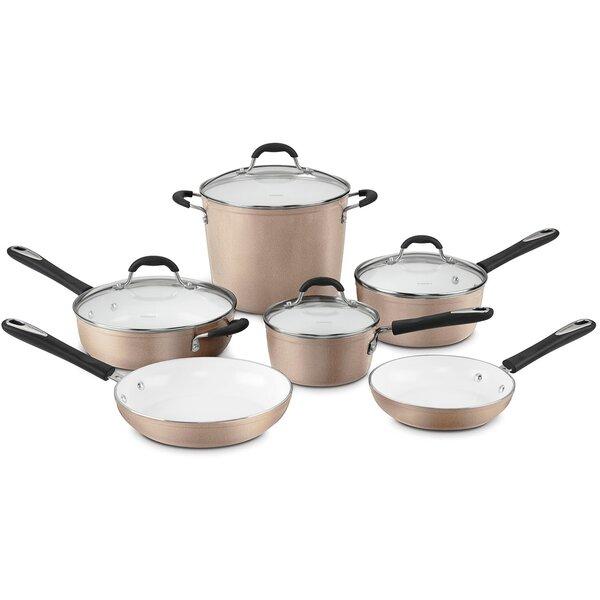 Elements 10-Piece Non-Stick Cookware Set by Cuisinart