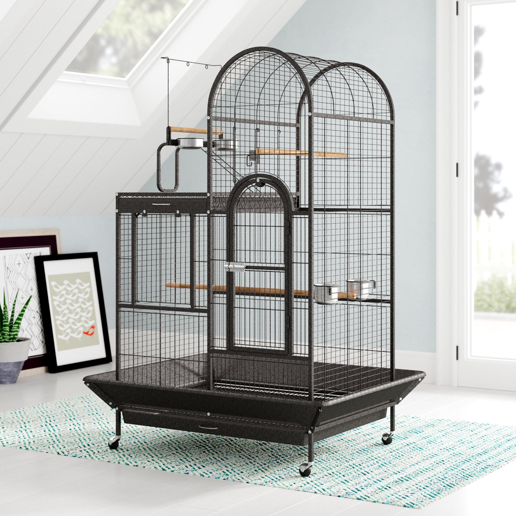 Oscar Eli Deluxe Parrot Bird Cage