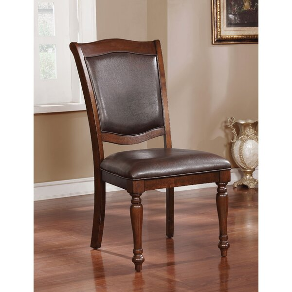 Hirschman Traditional Upholstered Dining Chair (Set of 2) by Alcott Hill