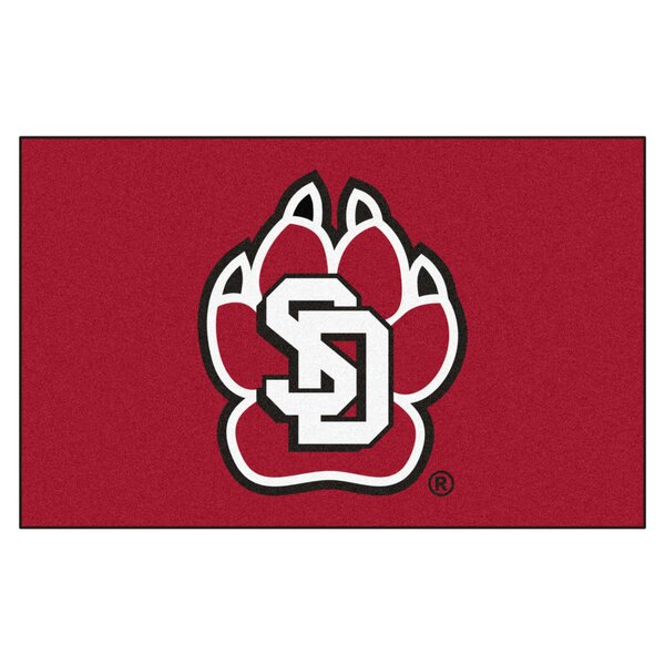 Collegiate NCAA University of South Dakota Doormat by FANMATS