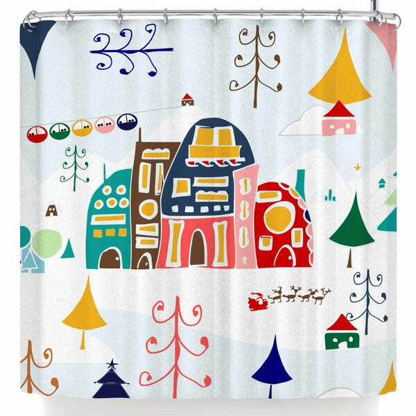 Bruxamagica Winter Land Shower Curtain by East Urban Home