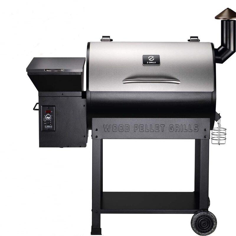 "DirectWicker 48"" Pro Series 22 Wood Pellet Grill | Wayfair"