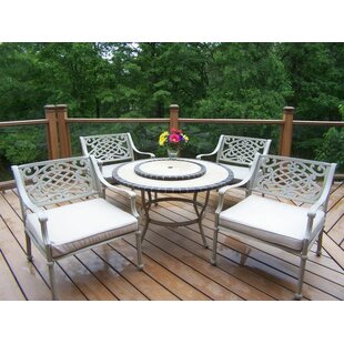 Tacoma 5 Piece Conversation Set with Cushions By Oakland Living