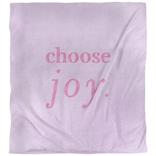 Choose Joy Quote Single Duvet Cover