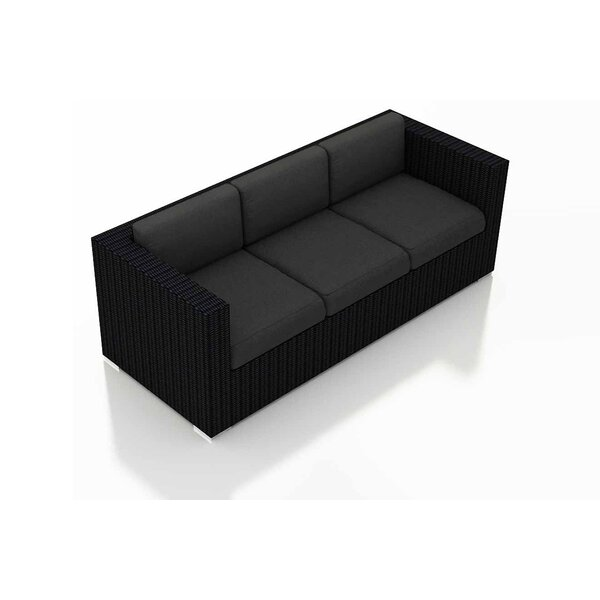 Azariah Patio Sofa with Cushions by Orren Ellis