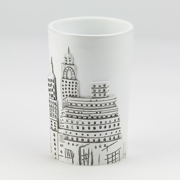 Jones Street Tumbler and Toothbrush Holder by House of Hampton