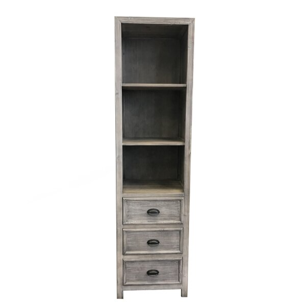 Wendell 19.5 W x 74.5 H Linen Tower by Laurel Foundry Modern Farmhouse
